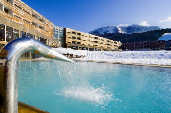 Carinzia_Aussenpool_im_Winter